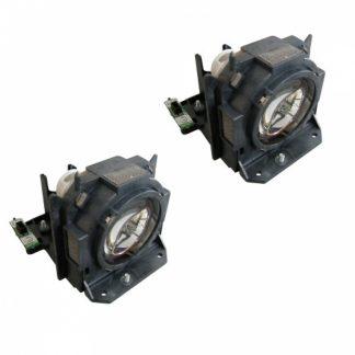 Panasonic ET-LAD60W original Projektorlampe ET-LAD60AW Doppelpack