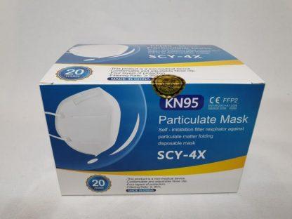SCY-4X Mund- und Nasenschutz Maske FFP2 Einweg 20er-Pack